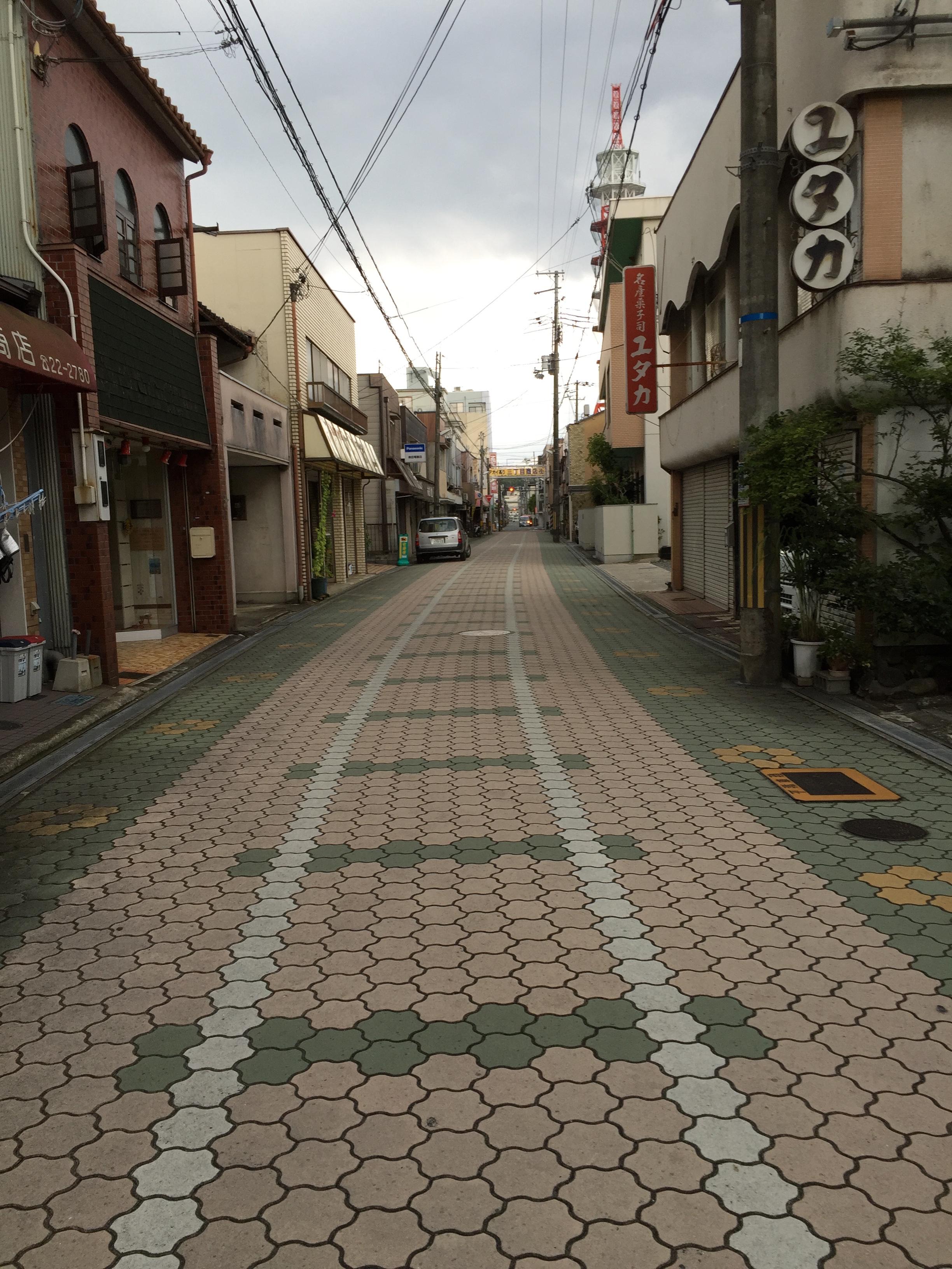 福知山市けやき通り